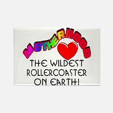 Motherhood Rollercoaster Rectangle Magnet