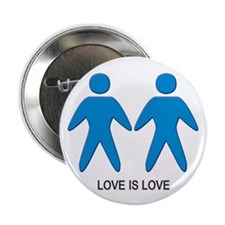 """Love is Love (Gay) 2.25"""" Button (10 pack)"""