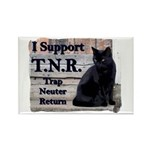 I Support TNR Rectangle Magnet