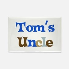 Tom's Uncle Rectangle Magnet