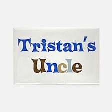 Tristan's Uncle Rectangle Magnet