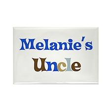 Melanie's Uncle Rectangle Magnet