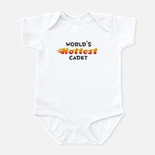 World's Hottest Cadet (B) Infant Bodysuit