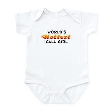 World's Hottest Call .. (B) Infant Bodysuit