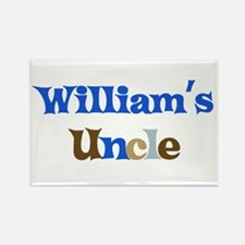William's Uncle Rectangle Magnet