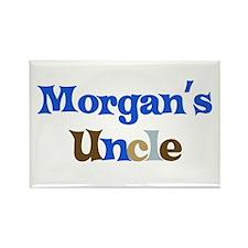 Morgan's Uncle Rectangle Magnet