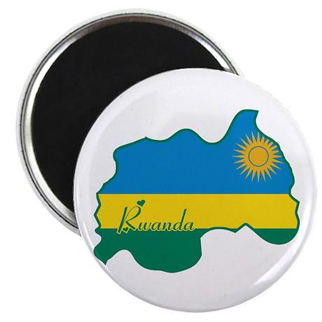 """Cool Rwanda 2.25"""" Magnet (100 pack)"""
