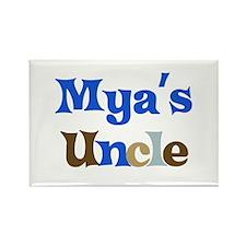 Mya's Uncle Rectangle Magnet
