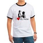 I Love My Nurse Ringer T