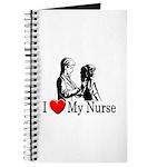 I Love My Nurse Journal