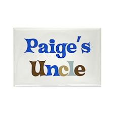 Paige's Uncle Rectangle Magnet