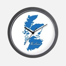 Cool Scotland Wall Clock