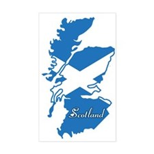 Cool Scotland Rectangle Decal
