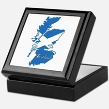 Cool Scotland Keepsake Box