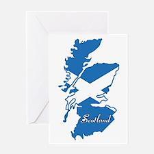 Cool Scotland Greeting Card