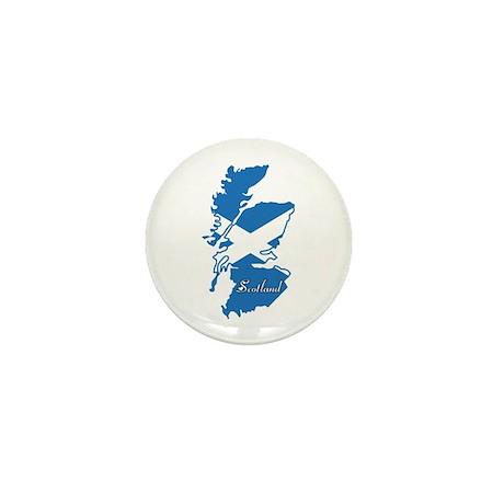 Cool Scotland Mini Button