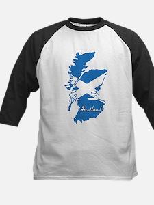 Cool Scotland Kids Baseball Jersey