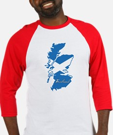 Cool Scotland Baseball Jersey