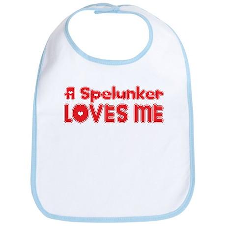 A Spelunker Loves Me Bib