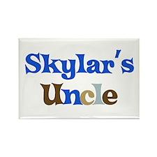 Skylar's Uncle Rectangle Magnet