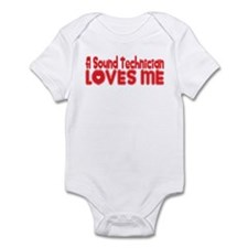 A Sound Technician Loves Me Infant Bodysuit