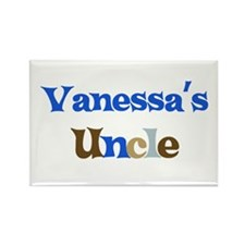 Vanessa's Uncle Rectangle Magnet