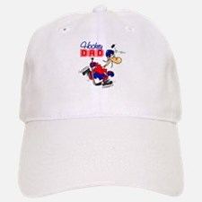 Hockey Dad Baseball Baseball Cap