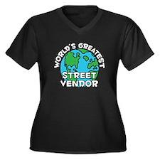 World's Greatest Stree.. (G) Women's Plus Size V-N