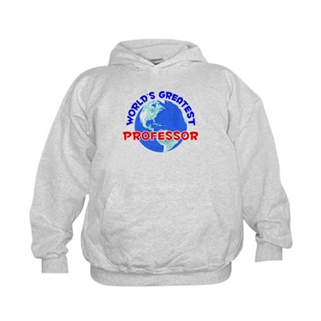 World's Greatest Profe.. (E) Kids Hoodie