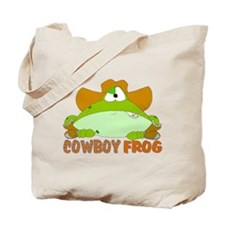 COWBOY FROG Tote Bag