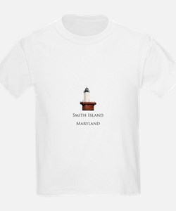 """Smith Island"" Lighthouse T-Shirt"