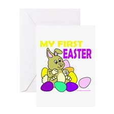 MY FIRST EASTER Greeting Card