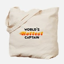 World's Hottest Captain (B) Tote Bag