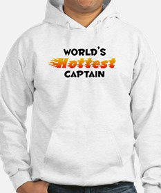 World's Hottest Captain (B) Hoodie