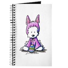 Easter Bunny Westie Journal