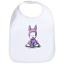 Easter Bunny Westie Bib