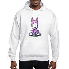 Easter Bunny Westie Hoodie