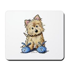 Bunny Slippers Cairn Mousepad