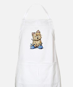 Bunny Slippers Cairn BBQ Apron