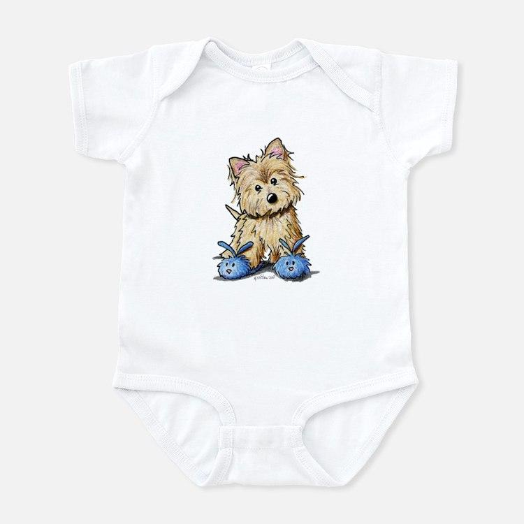 Bunny Slippers Cairn Infant Bodysuit