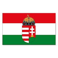 Hungary Flag Decal