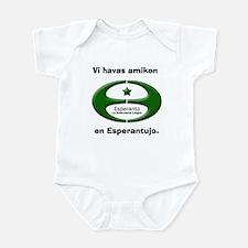 Esperanto Friend Infant Bodysuit