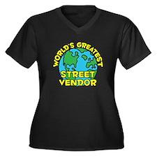World's Greatest Stree.. (H) Women's Plus Size V-N