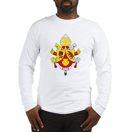 Pope Benedict XVI Coat of Arm Long Sleeve T-Shirt