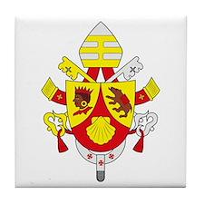 Pope Benedict XVI Coat of Arm Tile Coaster