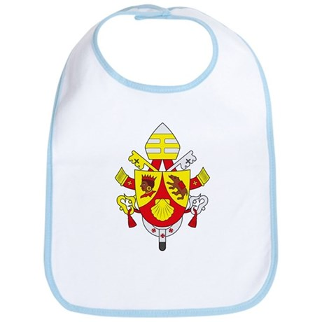 Pope Benedict XVI Coat of Arm Bib
