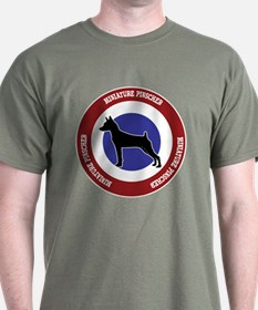 Miniature Pinscher Bullseye T-Shirt