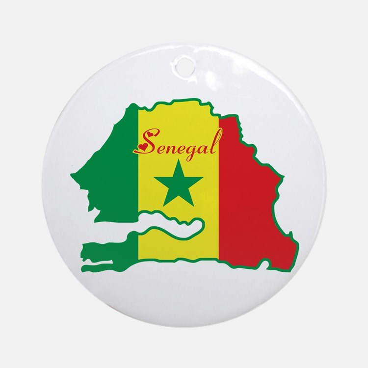 Cool Senegal Ornament (Round)