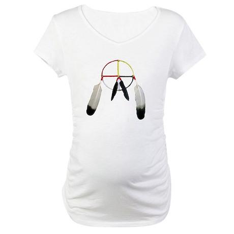 Medicine Wheel Maternity T-Shirt
