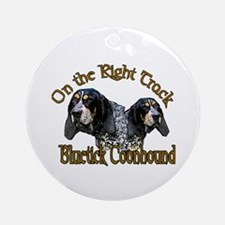 Bluetick Coonhound Gifts Ornament (Round)